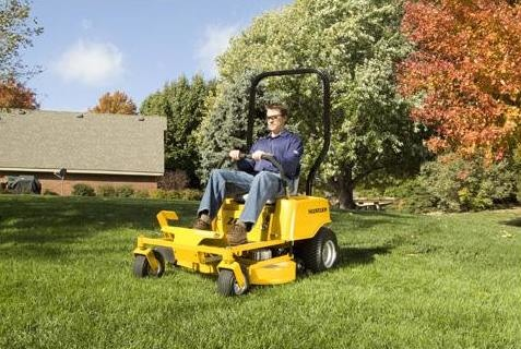 Hustler ZEON Zero Turn Mower 4