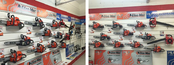 Oleo Mac Chainsaw Display