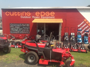 OUR CUTTING EDGE MOWER SHOP OCTOBER 2019 READY FOR THE SUMMER SEASON